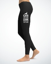 Crazy Cat Lover Legging-hoodie-shirt-Mug-PhoneCase Ladies Leggings lifestyle-leggings-left-1