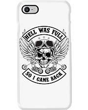 HELL WAS FULL - SO I CAME BACK Phone Case thumbnail