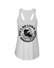 Ain't no laws when you're drinking claws t-shirt Ladies Flowy Tank thumbnail