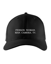 Person Woman Man Camera Tv hat Embroidered Hat tile