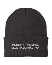 Person Woman Man Camera Tv hat Knit Beanie thumbnail