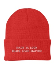 Made You Look BLM hat Knit Beanie thumbnail