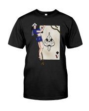 Sailor Jerry Pinup Ace Of Spades Classic T-Shirt thumbnail