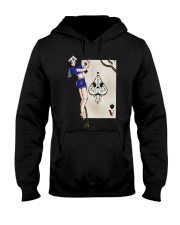 Sailor Jerry Pinup Ace Of Spades Hooded Sweatshirt front