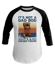 it's not a dad bod Baseball Tee tile