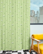 Wild Flower and Green Grass Pattern Window Curtain - Blackout aos-window-curtains-blackout-50x84-lifestyle-front-01