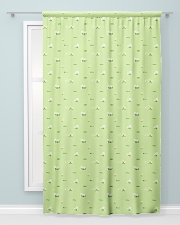 Wild Flower and Green Grass Pattern Window Curtain - Blackout aos-window-curtains-blackout-50x84-lifestyle-front-04