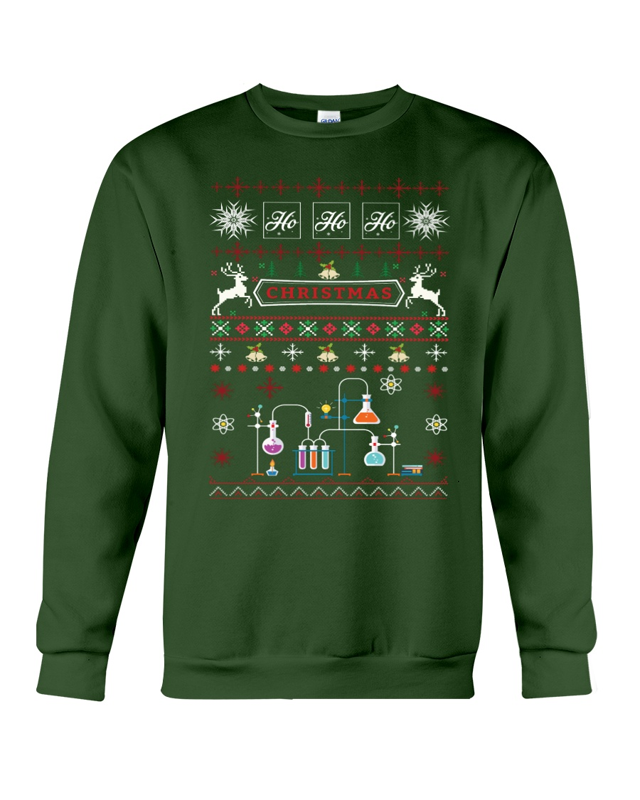Chemist Ugly Sweater Crewneck Sweatshirt