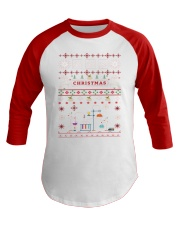 Chemist Ugly Sweater Baseball Tee thumbnail