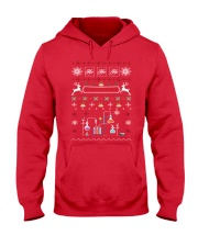 Chemist Ugly Sweater Hooded Sweatshirt thumbnail