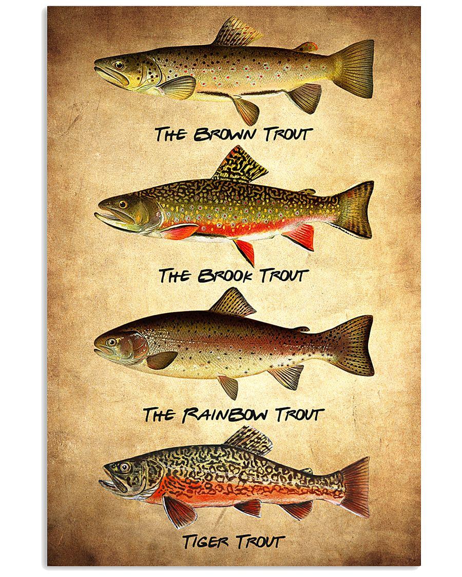 Set 4 Trout 11x17 Poster