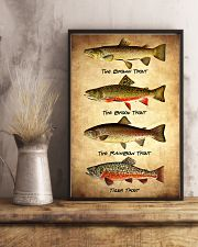 Set 4 Trout 11x17 Poster lifestyle-poster-3