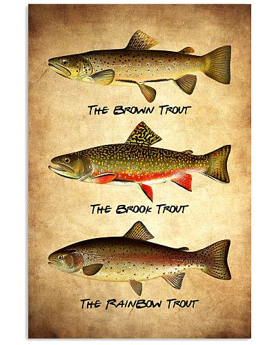 Trout Poster - Fish Print