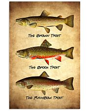 Trout Poster - Fish Print 11x17 Poster front