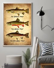 Trout Poster - Fish Print 11x17 Poster lifestyle-poster-1