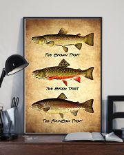 Trout Poster - Fish Print 11x17 Poster lifestyle-poster-2