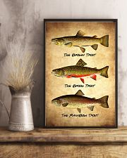 Trout Poster - Fish Print 11x17 Poster lifestyle-poster-3