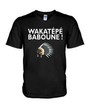 Wakatepe baboune V-Neck T-Shirt front