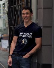 Wakatepe baboune V-Neck T-Shirt lifestyle-mens-vneck-front-1