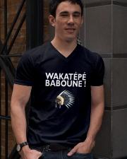 Wakatepe baboune V-Neck T-Shirt lifestyle-mens-vneck-front-2