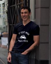 C'est moi mich mich V-Neck T-Shirt lifestyle-mens-vneck-front-1