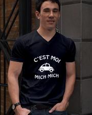 C'est moi mich mich V-Neck T-Shirt lifestyle-mens-vneck-front-2