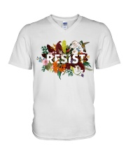 Flora Resist  V-Neck T-Shirt thumbnail