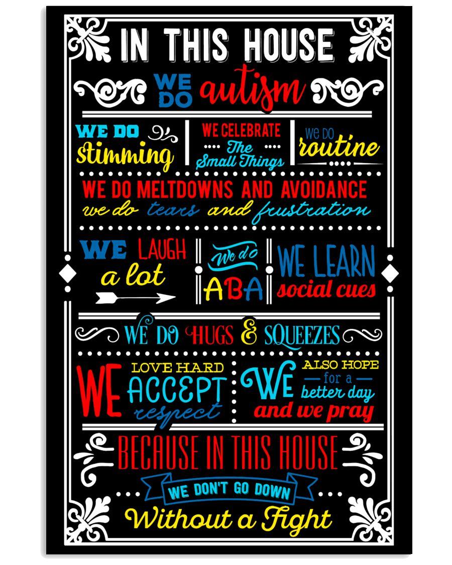 AUTISM 11x17 Poster