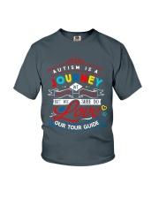 AUTISM JOURNEY Youth T-Shirt thumbnail