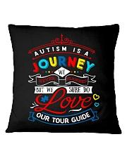 AUTISM JOURNEY Square Pillowcase front