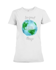 Do Good Green Things Reusable Totes and T-Shirts Premium Fit Ladies Tee thumbnail