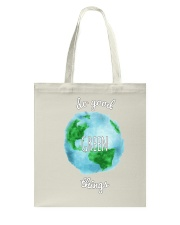 Do Good Green Things Reusable Totes and T-Shirts Tote Bag thumbnail