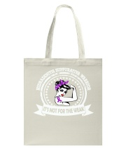 Hidradenitis Suppurativa Warrior Tote Bag tile