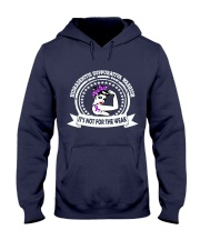 Hidradenitis Suppurativa Warrior Hooded Sweatshirt front