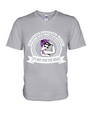 Hidradenitis Suppurativa Warrior V-Neck T-Shirt tile