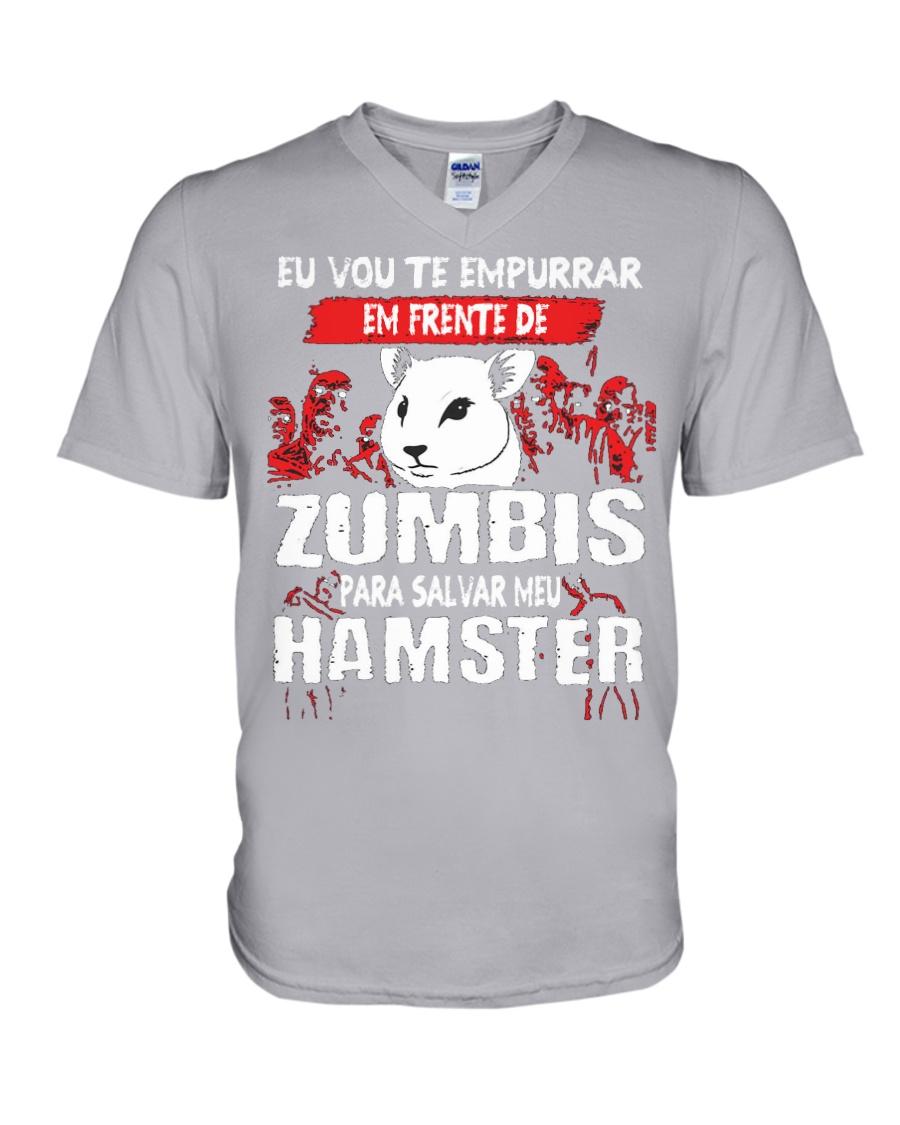 HAMSTER V-Neck T-Shirt
