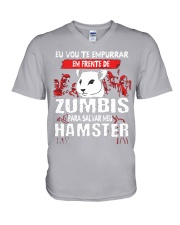HAMSTER V-Neck T-Shirt tile