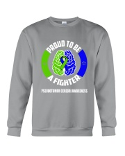 Pseudotumor Cerebri Warrior Crewneck Sweatshirt thumbnail