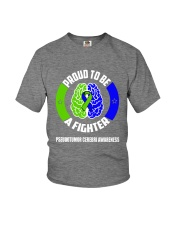Pseudotumor Cerebri Warrior Youth T-Shirt thumbnail