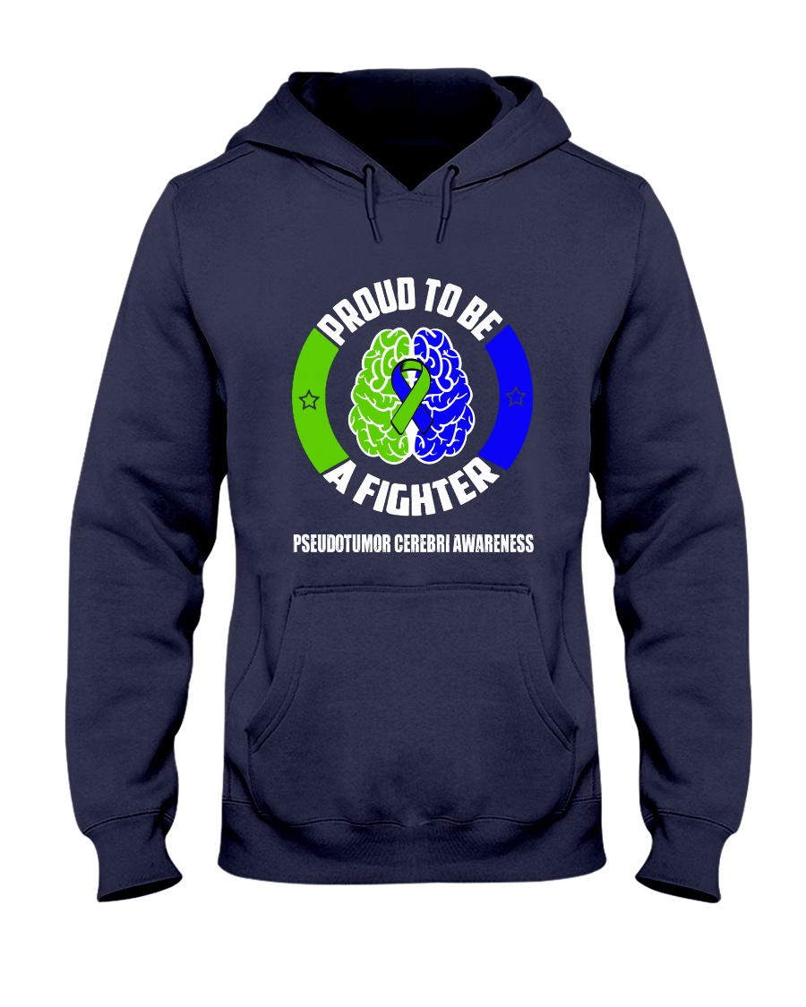 Pseudotumor Cerebri Warrior Hooded Sweatshirt