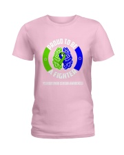 Pseudotumor Cerebri Warrior Ladies T-Shirt thumbnail