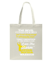 Spina Bifida Warrior Tote Bag thumbnail