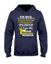 Sarcoma Warrior Hooded Sweatshirt front