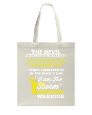 Sarcoma Warrior Tote Bag thumbnail