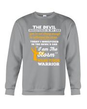 Wilms Tumor Warrior Crewneck Sweatshirt thumbnail