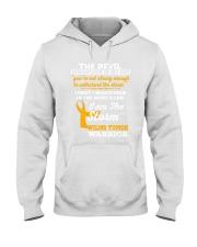 Wilms Tumor Warrior Hooded Sweatshirt front