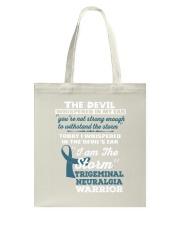 Trigeminal Neuralgia Warrior Tote Bag thumbnail