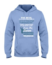 Trigeminal Neuralgia Warrior Hooded Sweatshirt thumbnail
