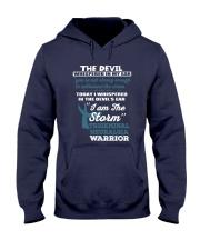 Trigeminal Neuralgia Warrior Hooded Sweatshirt front