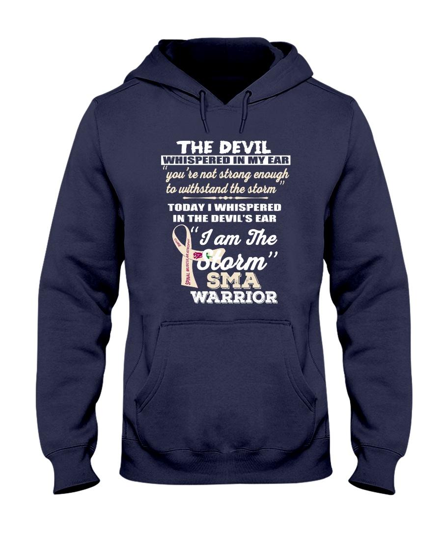 Spinal Muscular Atrophy Warrior Hooded Sweatshirt